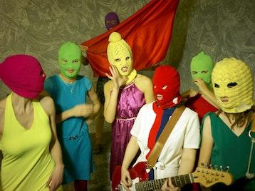 Pussy Riot artist photo