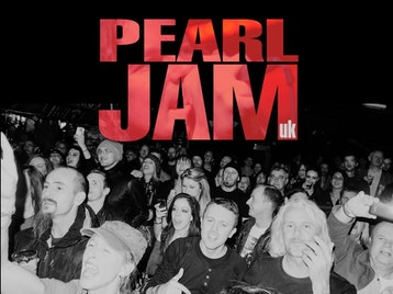 Pearl Jam UK picture