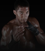 Anthony Joshua MBE artist photo