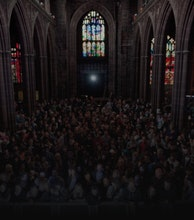 Manchester Cathedral artist photo