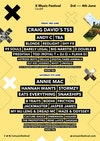 Flyer thumbnail for X Music Festival 2016: Craig David + Andy C + Blonde + Redlight + Shy FX + 99 Souls + DJ Barely Legal + Big Narstie + D Double E (Newham Generals) + Preditah & more