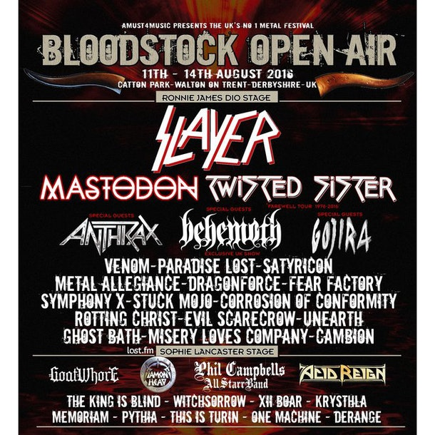 Bloodstock Open Air 2016