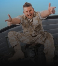Gary Tank Commander artist photo