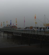 Hastings Pier artist photo