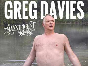 Firing Cheeseballs At A Dog: Greg Davies picture