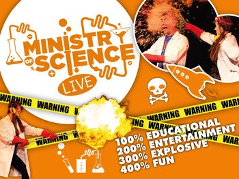 Ministry Of Science - Live