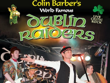 Colin Barber's Dublin Raiders (formerly Madhouse) artist photo