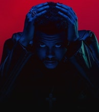The Weeknd artist photo