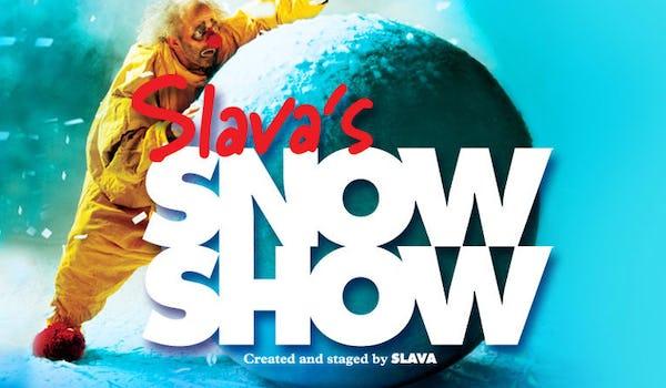 Slava's Snow Show Tour Dates
