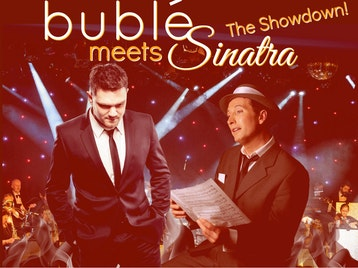 Buble Meets Sinatra: The Showdown!, Jamie Flanagan as Michael Buble, Kevin Fitzsimmons picture