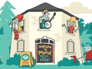 Prema Arts Centre venue photo