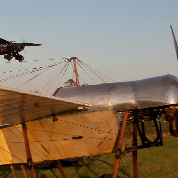 Shuttleworth Vintage Weekend - Saturday 4th & Sunday 5th September 2021