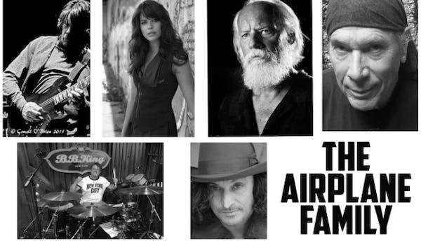 The Airplane Family Tour Dates