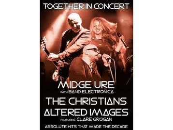 80s Triple Header: Midge Ure, The Christians, Altered Images picture