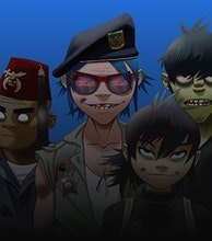 Gorillaz artist photo