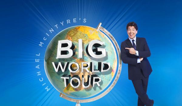 Michael McIntyre Tour Dates