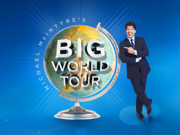 Michael McIntyre's Big World Tour: Michael McIntyre picture