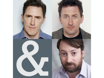 Rob Brydon, David Mitchell, Lee Mack picture