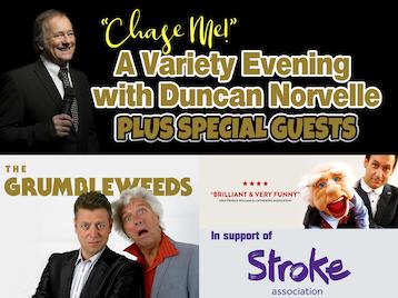 An Evening with: Duncan Norvelle, Steve Hewlett, The Grumbleweeds, BGT's Hoop Guy picture