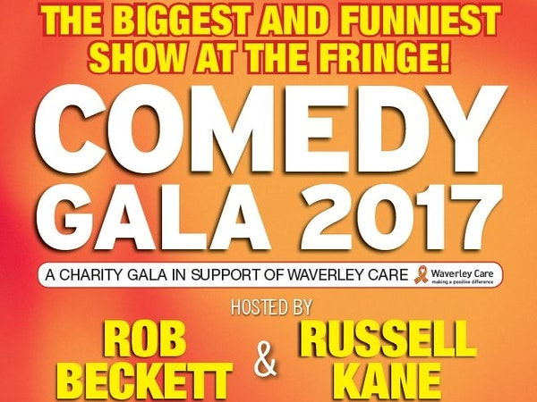 Edinburgh Festival Fringe - Waverley Care Comedy Gala