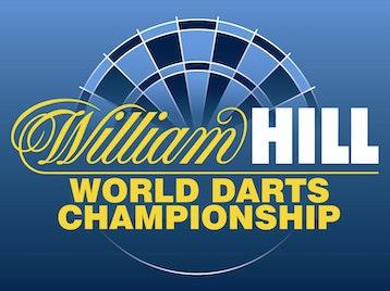 William Hill World Darts Championships artist photo