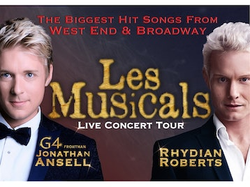 Les Musicals, Rhydian Roberts, Jonathan Ansell picture