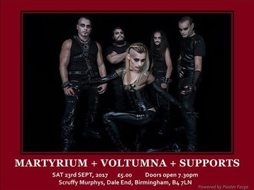 Death From Malta and Italy: Martyrium, Genesis Arc, Voltumna, At Dawn We Attack picture