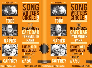 Songwriter's Circle: Simon Todd, Findlay Napier, Phil Caffrey picture