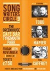 Flyer thumbnail for Songwriter's Circle: Simon Todd, Findlay Napier, Phil Caffrey