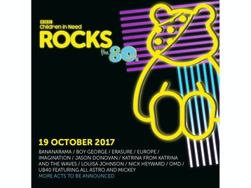BBC Children In Need Rocks The 80s: Bananarama, Boy George, Erasure, Europe, Imagination, Jason Donovan, Katrina Leskanich (Katrina and The Waves), Louisa Johnson, Nick Heyward, OMD, UB40 Featuring Ali Astro and Mickey picture