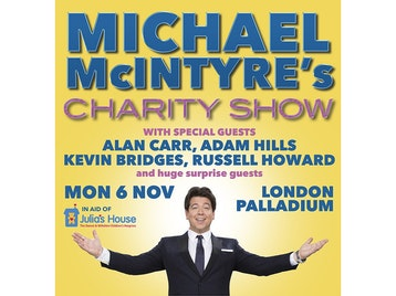Michael McIntyre's Charity Show: Michael McIntyre, Alan Carr, Adam Hills, Kevin Bridges, Russell Howard picture