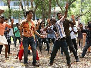 Film promo picture: Velipadinte Pusthakam