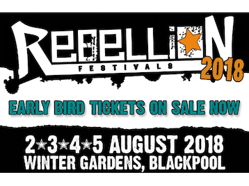 Rebellion Festival 2018: Public Image Ltd, Stiff Little Fingers, Buzzcocks, The Exploited, Lagwagon, The Wildhearts, The Adicts, Mad Caddies, The Cockney Rejects, Peter Hook, Angelic Upstarts, The Dickies, Slaughter & The Dogs, Discharge, UK Subs, Ruts DC, GBH, Idles, The Professionals, Anti Nowhere League, Theatre Of Hate, Jah Wobble, DRI (Dirty Rotten Imbeciles), T.S.O.L., The Queers, Neville Staple, The Briefs, Lower Class Brats, SNFU, The Adolescents, The Weirdos, The Bones, Peter And The Test Tube Babies, Voodoo Glow Skulls, Subhumans, Dirt Box Disco, Toxic Reasons, Authority Zero, The Men They Couldn't Hang, Lawrence Arms, The Last Resort, 999, Chron Gen, Battalion Of Saints, Gimp Fist, Wonk Unit, Jaya The Cat, Culture Shock, The Members, The Filaments, The Vibrators, The Defects, Millions Of Dead Cops, Newtown Neurotics, Spizzenergi, Vice Squad, The Lillingtons, Rubella Ballet, 45 Grave, Fischer-Z, The Stupids, Bonecrusher, Evil Blizzard, Los Fastidios, Mau Maus UK, Rude Pride, Hobo Jones and the Junkyard Dogs, The Ramonas, Citizen Fish, Zounds, Cheap Sex, Paranoid Visions, The Lovely Eggs, Slice Of Life, Red Alert, Sick On The Bus, Channel 3, Crisis, Maid Of Ace, Raw Power, Bar Stool Preachers, Filf, Cyanide Pills (Formerly The Terminals), Drongos For Europe, Hagar The Womb, The Blame, Rats In The Wall, Blyth Power, Splodgenessabounds, In Evil Hour, Vicious Circle, Arch Rivals, Grade 2, Reno Divorce, Popes of Chillitown, The Glory, Monster Squad, Funeral Dress, Those Naughty Lumps, The Crippens, Resistance 77, Brassknuckle Boys, Control, City Saints, B-Squadron, Charge 69, Svetlanas, The Restarts, The Bar-Steward Sons Of Val Doonican, The Nightingales, East End Badoes, Church Of Confidence, Clowns, System Of Hate, Contempt, The Astronauts, The Cundeez, The Drones, The Liptones, Choking Susan, The Struggle, The Featherz, Spunk Volcano & The Eruptions, Hands Off Gretel, Roadside Bombs, Brassick, Angry Agenda, United Bottles, Templeton Pek, The DeRellas, Soap Girls, Geoffrey Oicott, Vince Ray And The Boneshakers, Warwound, Wolf Bites Boy, The Mis-Made, Strange Bones, A Heads, Tiger Sex, Modern Enemy, Pizzatramp, Sem Futuro, Knock Off, Blatoidea, Boots N All, The Kut, Surgery Without Research, Revolt-Chix, The Defectives, Poly-esters, Radiostorm, Headstone Horrors, Inflatable Dolls, Flowers In The Dustbin, Fire Exit, The Fornicators, Viki Vortex & The C**shots, Esperanza, Millie Manders, Revenge of The Psychotronic Man, Brassknuckle, Cadaver Club, The Blue Carpet Band, The Yalla Yallas, No Thrills, Bad Cop/Bad Cop, Chaos 8, Dedo Podre, Red Light Rebels, Royal Oi!, Fat Randall, Valis Ablaze, Faintest Idea, The Gakk, The Attack, Informal Society, Takers & Users, Vox Populi, Berlin Blackouts, Aerial Salad, The Droogettes, 13 Bats, Grippers, Traits, Turbulent Hearts, The Fuckin Glorious, Face Up!, 4 Past Midnight, 5 Go Mad, Vomit, The Eddies, Atterkop, The Macc Lads, Scumbrians, Delinquents, Morgellons, Litterbug, Boilermaker, The Attack picture