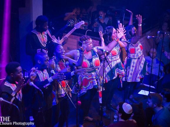 London African Gospel Choir Tour Dates