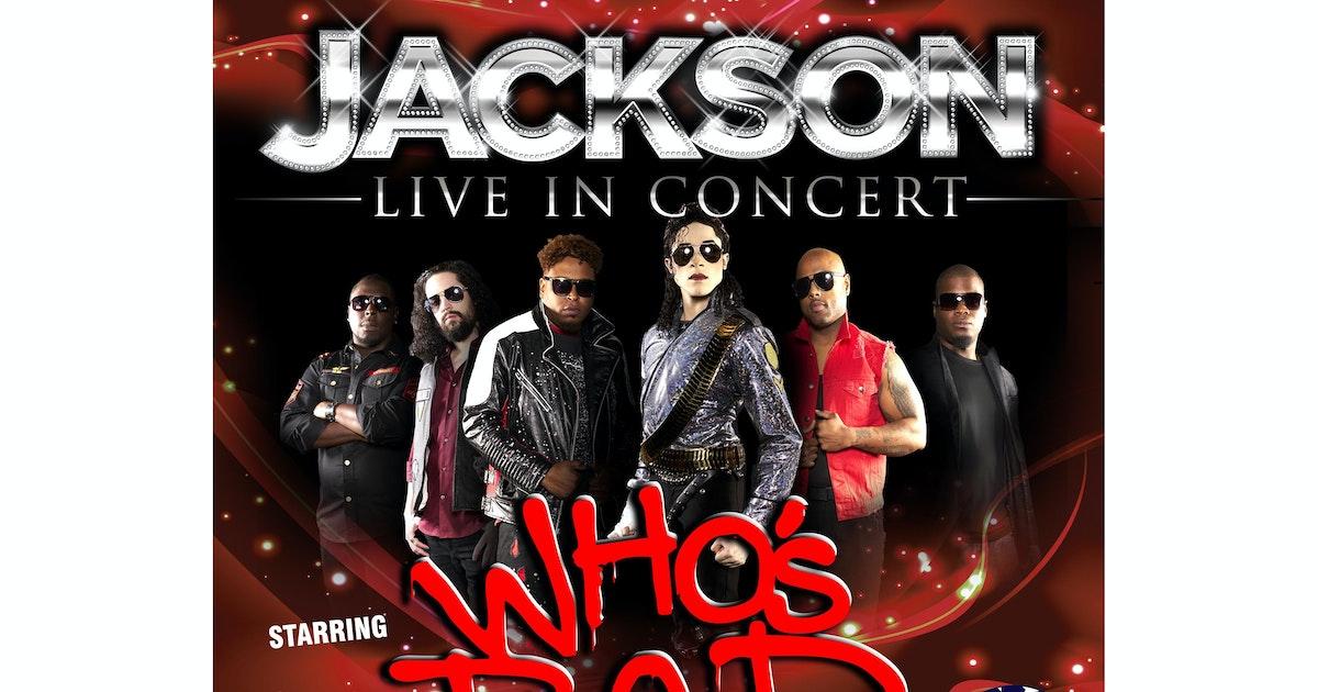 Jackson - Whos Bad Tour Dates & Tickets 2021 | Ents24