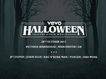 Vevo Halloween: Rag'N'Bone Man, Jonas Blue, JP Cooper, Yungen picture