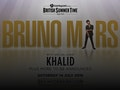 Bruno Mars, Khalid event picture
