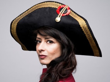 Dirty Looks And Hopscotch: Shappi Khorsandi picture