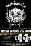 Flyer thumbnail for Motörheadache - A Tribute To Lemmy