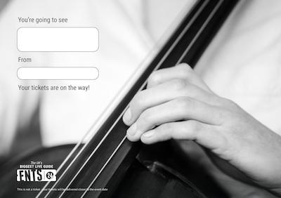 Cello gift certificate