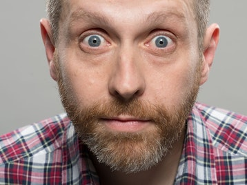 With Great Powerpoint Comes Great Responsibilitypoint: Dave Gorman picture