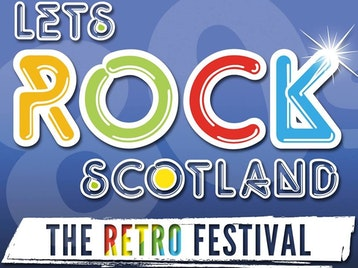 Let's Rock Scotland: Billy Ocean, Marc Almond, Tony Hadley, ABC, Nick Heyward, Heaven 17, Midge Ure, Go West!, Nik Kershaw, Katrina Leskanich (Katrina and The Waves), Altered Images, Modern Romance, Hazell Dean, Fuzzbox, Annabella's Bow Wow Wow, Brother Beyond, Peter Coyle, Black Lace picture