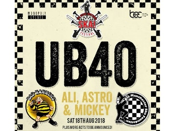 The Great Northern Ska Festival : UB40 Featuring Ali Astro and Mickey, Bad Manners, Manchester Ska Foundation picture