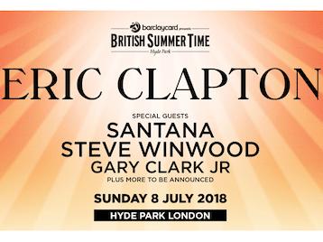 Barclaycard presents British Summer Time Hyde Park 2018: Eric Clapton, Santana, Steve Winwood, Gary Clark Jr, The Americans picture