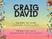 The Jockey Club Live: Craig David event picture