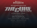 The Cure, Interpol, Goldfrapp event picture
