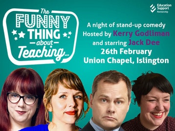 The Funny Thing About Teaching...: Jack Dee, Kerry Godliman, Jo D'Arcy, Angela Barnes, Rob Rouse, Stewart Lee picture