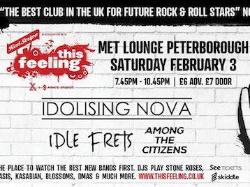 This Feeling - Peterborough: Idolising Nova, Idle Frets, Among The Citizens, Tom Lumley picture