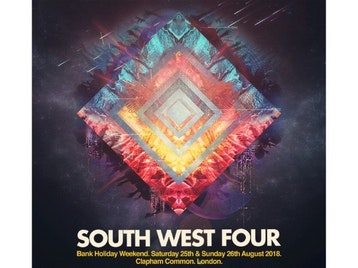South West Four 2018: Marshmello, Dizzee Rascal, Dillon Francis, Elderbrook, Jauz, Jax Jones, Jonas Blue, Nadia Rose, Netsky, Slushii, Sigma, Sinead Harnett, Chase & Status, Craig David Presents TS5, Andy C, Bugzy Malone, Disciples, James Hype, My Nu Leng, Ocean Wisdom, Stefflon Don, Armin Van Buuren, Galantis, Don Diablo, Example, DJ Wire, Kungs, Sunnery James & Ryan Marciano, Marciano, R3hab, W&W, DJ EZ, Sub Focus, Basement Jaxx (DJ Set), Hannah Wants, Mambo Brothers, Michael Calfan, Roger Sanchez, Sam Divine, TCTS, Oliver Heldens, Armand Van Helden, Coco Cole, Fedde Le Grand, Idris Elba, Martin Solveig, Nora En Pure, Purple Disco Machine, The Magician, Wilkinson, DJ Hype, Hazard, SaSaSaS, Roni Size, Annix, Camo & Krooked, Diemantle, General Levy, Prototypes, Randall, Sub Zero, TC, MK, Booka Shade, Eli & Fur, Detlef, Icarus, KC Lights, Latmun, Route 94, Will Clarke, Darkzy, Skepsis, Bru-C, FineArt, Flux Pavilion, Holy Goof, The Heatwave, Dre Skull, Toddla T, Redlight, Valentino Khan, Party Favor, Bushbaby, Sammy Virji, Cause & Affect, Taiki Nulight, Benny Benassi, Cheat Codes, Klingande, Louis The Child, Punctual, Sam Feldt, San Holo, Tough Love, Tom Zanetti, Lethal Bizzle, Kojo Funds, Yungen, Big Narstie, Big Tobz, Kideko, Madam X, Riton, Kah-Lo, Rude Kid, Steel Banglez, P Montana, The Manor picture