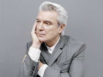 David Byrne artist photo